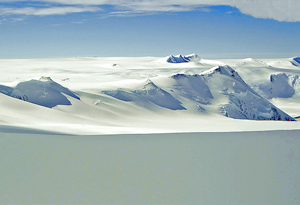 Beautiful Antarctic scenery